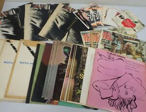 ANDY WARHOL COVER ART HUGE COLLECTION 30 LP#x27;s 7quot; Rolling StonesBlue Note RCA $699.99