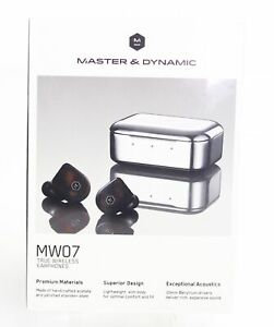 Master amp; Dynamic Earphones Brown Black Advanced Antenna True Wireless $299 #254 $130.97