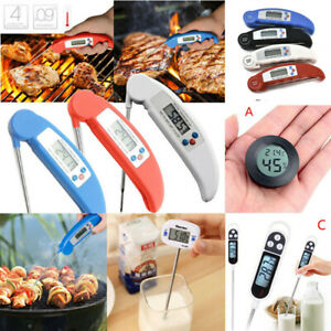 Instant Digital Read Food Probe Kitchen Cooking Meat BBQ Thermometer Temperature C $9.17