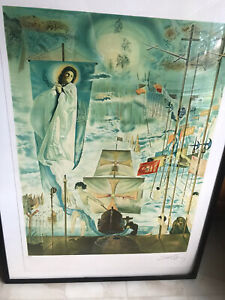ARTISTS PROOF SALVADOR DALI LITHOGRAPH WITH COA AND REFERENCES * $799.00