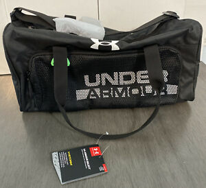 《NEW》Under Armour Boys Armour Select Duffle1308787 Training Travel Gym Bag Black $35.00