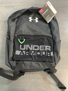 Under Armour Youth Armour Select Backpack Black 001 White One Size Fits all