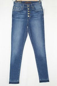 Joe#x27;s Flawless Charlie High Rise Skinny Ankle Stretch Button Fly Size 25 Jocelyn
