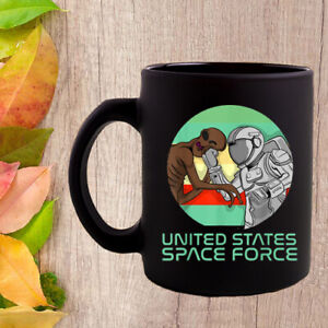 US Space Force Funny Astronaut Versus Alien Coffee Mugs $10.99