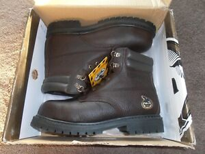 MENS GEORGIA BOOTS SIZE 9 M