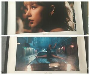Taylor Swift Delicate Lithographs Both Car and Close Up $400.00