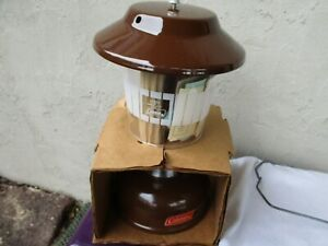 Vintage Never Fired Coleman 275 Two Mantle Lantern dated 12 75