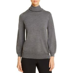 Eileen Fisher Womens Extra Fine Merino Wool Turtleneck Sweater Top BHFO 8847 $38.99
