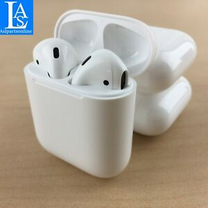 ✅Original Apple AirPods 2nd Generation with Wired Charging Case MV7N2AM A $78.99