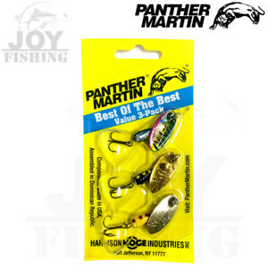 Panther Martin Best Of The Best Fishing Spinner Kit #4 1 8 oz BOB3