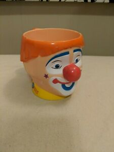 Ringling Brothers Barnum Bailey Circus Clown Face Cup Mug $7.40