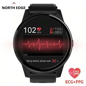 Smart Sport Fitness Watch Activity ECG PPG BP Heart Rate Monitor Wristband IP67 $61.82