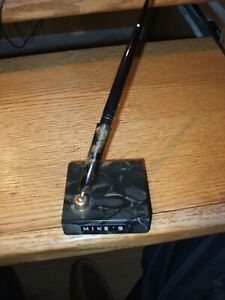 Lifetime Shaeffer BP Pen amp; Vintage Holder apprx. 3quot; Square $45.00