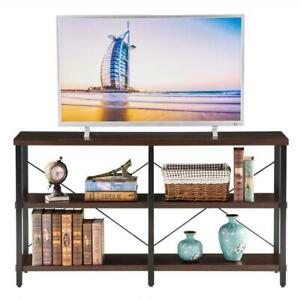55 inch 3 Tier Console Table Hallway Side Table TV Stands Open Bookshelf Storage $123.99