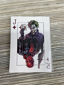 Batman: Three Jokers #3 2020 Playing Card Factory Sealed Deck – 25 Cards