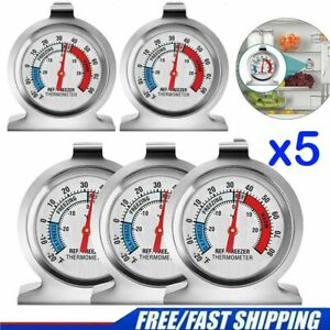 1 3 5Pack Refrigerator Freezer Thermometer Kitchenamp;Room Dial Type Thermometer US $6.17