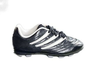 ADIDAS Traxion Youth Cleats Soccer Baseball Softball Black amp; Silver Size 1 $20.00