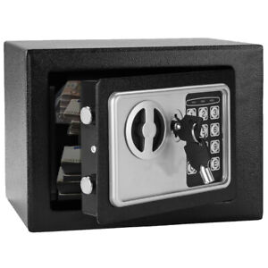 Electronic Digital Safe Box Wall Money Keypad Lock Home Fireproof Gun Security $33.96