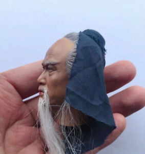 1 6th Ancient Male Beard Edition Hua Tuo Head Carving Model for 12quot; Figure $25.99