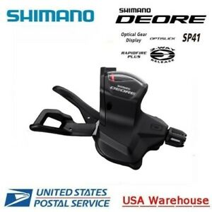 Shimano Deore SL M6000 Rapidfire Plus 20 30S Shifter Set with windows MTB