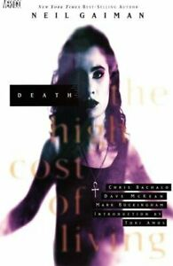 Death: The High Cost of Living by Todd Klein Book The Fast Free Shipping $8.99