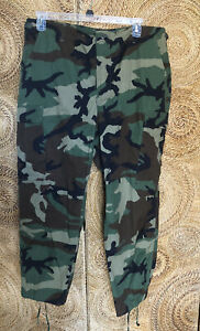 Military Camouflage Pants mens size Large Short *Modified Fly