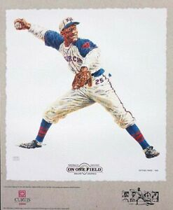 Negro League On One Field Lithograph Set By Michael Mellett $240.00