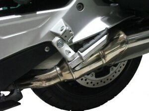 BMW K1300R K 1300 R Pillion Foot Peg Lowering Adjustable 60mm ABE: Silver $195.14