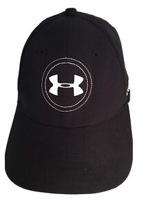 Under Armour Golf Hat Cap Men One Size Med Lg Pre Owned $12.00