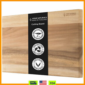 Kitchen Chopping Cutting Board for Meat Reversible Butcher Block Thick amp;Durable $26.39