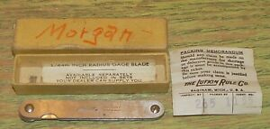 LUFKIN Thickness Gage 109T Feeler Original Box Antique Vintage Tool Gap Measure $25.00
