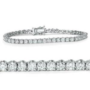 5ct Diamond Tennis Bracelet 14K White Gold