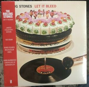 The Rolling Stones Let It Bleed Black Friday Record Store Day RSD Hand Poured LP $495.00