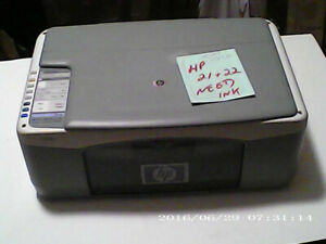 hp printer all in one HP 1410 PRINT COPY SCAN. . USED. . $30.00