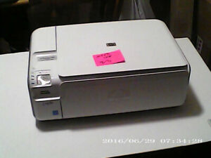 hp printer all in one HP 4480 ALL IN ONE with CARD READER $30.00