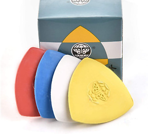 10 Pieces Pack Triangle Tailors Chalk Sewing Quilting Notions White Yellow RED B $7.36