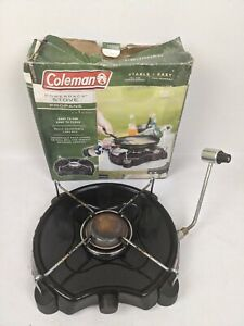 Coleman Powerpack Propane Camping Stove Single One Burner Adjustable