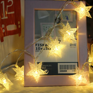 Christmas LED Star Lights Fairy String Lamp Xmas Party Home Room Decoration US $7.69