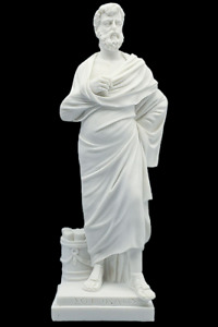 Socrates Sculpture Ancient Greek Famous Marble Statue 11.81 inches $71.62
