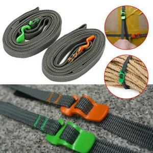 Adjustable luggage strap Belt with Buckle Tie Down Belt 125kg Durable Backpack $4.99
