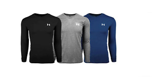 New With Tags Mens Under Armour Gym Muscle V Neck Long Sleeve Tee Shirt Top $23.99