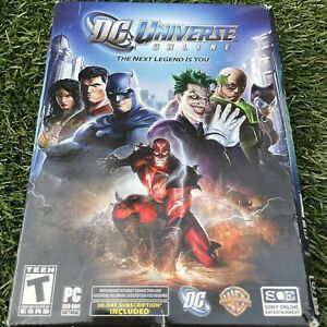 DC Universe Online: The Next Legend is You PC 2011 Begin the Game as a Hero
