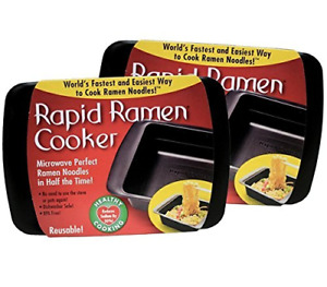 Rapid Ramen Cooker Microwave Ramen in 3 Minutes Perfect for Dorm Small or $18.68