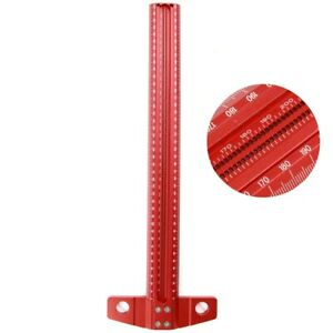 Precision Marking T Ruler Aluminum Alloy Woodworking Scribe Gauge Measuring Tool $62.15