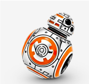 PANDORA moment 925s Sterling Silver star wars BB8 Fashion Bracelet beads charms