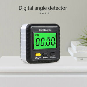 Magnetic Digital Inclinometer Angle Finder Protractor N Spirit Bubble US4 $14.80