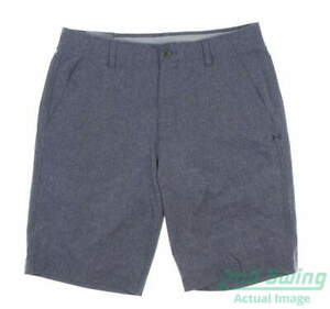 New Mens Under Armour Golf Shorts 40 Blue MSRP $70 $57.99