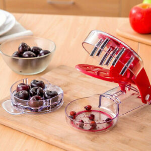 Kitchen Creative Cherry Pitter Stoner DIY Tool Fruit Nuclear Corer Remover $7.95