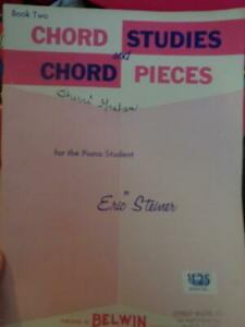 Chord Studies amp; Chord Pieces Book Two Piano Sheet Music Book $0.99
