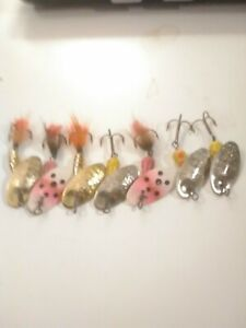 Panther Martin Spinner Lure Lot. 7 Number 2 Assorted Colors used
